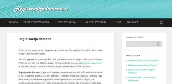 Registracijadomene.si