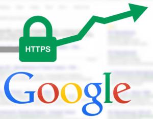 Google upošteva SSL certifikat