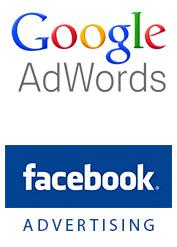 Google in Facebook oglaševanje