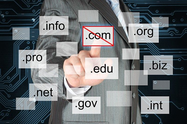 Kdaj ne registrirati .com domene