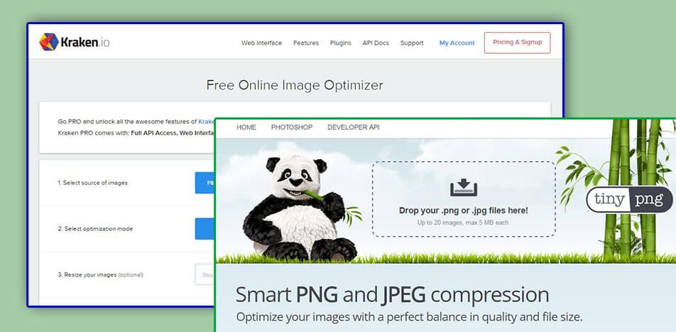 Orodja za optimizacijo slik