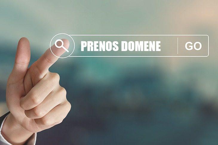 Prenos domene na drugega registrarja