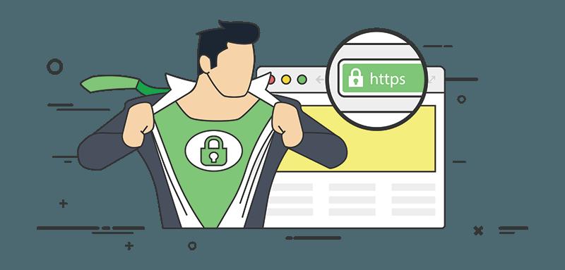 Povezava HTTPS